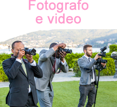 fotografo e video matrimonio